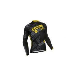 Bluza rowerowa męska FDX Pro Cycling Long Sleeve Thermal Jersey L. Czarne bluzy męskie rozpinane marki FDX, l, z nadrukiem, z jersey. Za 219,90 zł.