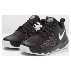 Nike Performance TEAM HUSTLE QUICK Obuwie do koszykówki black/white. Czarne buty skate męskie marki Nike Performance, z gumy. Za 189,00 zł.