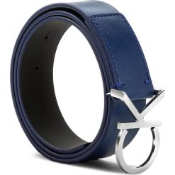 Paski damskie: Pasek Damski CALVIN KLEIN BLACK LABEL – Ck Logo Belt 3.5 K60K602141 75 430