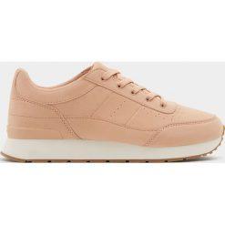 Buty sportowe damskie: Modne różowe buty sportowe