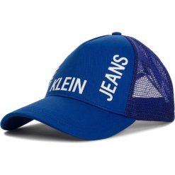 Czapka z daszkiem CALVIN KLEIN JEANS - J Trucker Mesh Cap K50K504321 455. Szare czapki z daszkiem damskie marki Calvin Klein Jeans, na zimę, z jeansu. Za 159,00 zł.