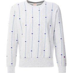 Champion Reverse Weave ALL OVER PRINT CREW Bluza loxgm. Niebieskie kardigany męskie Champion Reverse Weave, m, z bawełny. Za 419,00 zł.
