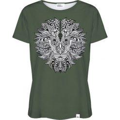 Colour Pleasure Koszulka damska CP-030 208 zielona r. XXXL/XXXXL. Bluzki asymetryczne Colour pleasure. Za 70,35 zł.