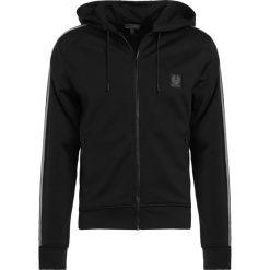 Belstaff WOODLOW Bluza rozpinana black. Czarne bluzy męskie Belstaff, m, z bawełny. W wyprzedaży za 664,30 zł.