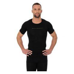 Koszulki sportowe męskie: Brubeck Koszulka męska 3D Bike PRO z krótkim rękawem czarna S (SS11930)