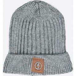 Ochnik - Czapka. Szare czapki zimowe męskie Ochnik, na zimę, z dzianiny. W wyprzedaży za 69,90 zł.