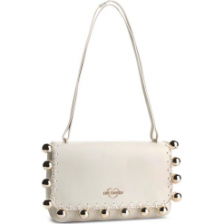 Torebka LOVE MOSCHINO - JC4077PP17LI0110 Avorio. Brązowe torebki klasyczne damskie Love Moschino, ze skóry ekologicznej. Za 959,00 zł.