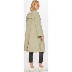 Answear - Płaszcz Wiya for Answear. Szare płaszcze damskie marki Mango, l, z elastanu, klasyczne. W wyprzedaży za 199,90 zł.