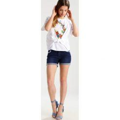 Bluzki asymetryczne: Topshop Petite Bluzka white