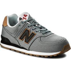 Trampki chłopięce: Sneakersy NEW BALANCE – GC574T2 Szary