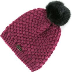 83-HF-008-2 Czapka damska. Różowe czapki damskie Wittchen, na zimę, z materiału. Za 49,00 zł.