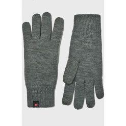 Jack & Jones - Rękawiczki. Szare rękawiczki męskie Jack & Jones, z dzianiny. W wyprzedaży za 59,90 zł.