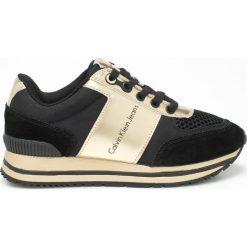 Calvin Klein Jeans - Buty. Szare buty sportowe damskie marki Calvin Klein Jeans, z jeansu. Za 539,90 zł.