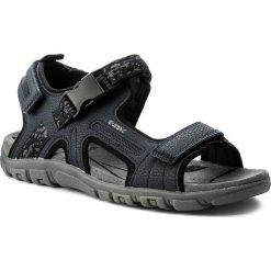 Sandały GEOX - U S.Strada A U8224A 00050 C4002 Navy. Niebieskie sandały męskie skórzane Geox. W wyprzedaży za 229,00 zł.