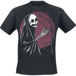Grimm Tree of Death T-Shirt czarny. Niebieskie t-shirty męskie z nadrukiem marki Reserved, l, z okrągłym kołnierzem. Za 79,90 zł.