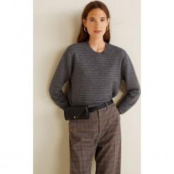 Mango - Sweter Tubito. Szare swetry klasyczne damskie Mango, l, z dzianiny, z okrągłym kołnierzem. Za 119,90 zł.