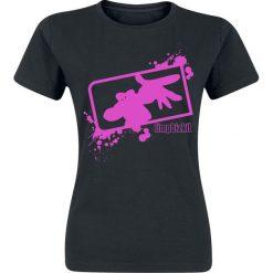 Limp Bizkit Logo Koszulka damska czarny. Czarne bluzki asymetryczne Limp Bizkit, m, z nadrukiem. Za 74,90 zł.