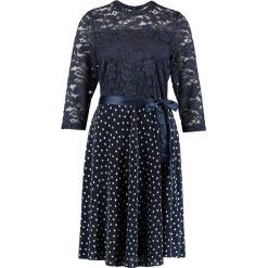Sukienki hiszpanki: Kaffe LOUISA DRESS Sukienka koktajlowa midnight marine