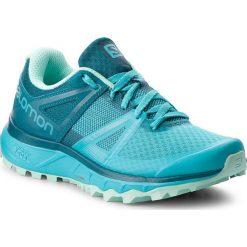 Buty SALOMON - Trailster W 404881 21 W0 Blubird/Deep Lagoon/Beach Glass. Niebieskie buty do biegania damskie Salomon, z materiału. W wyprzedaży za 349,00 zł.
