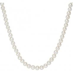 Naszyjnik z pereł w kolorze białym. Białe naszyjniki damskie marki Sinsay. W wyprzedaży za 227,95 zł.