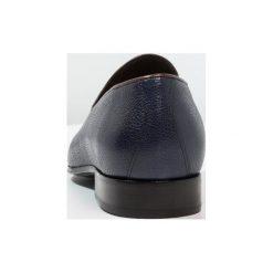 Buty wizytowe męskie: Avelar by PB MERKEL Eleganckie buty navy/brown