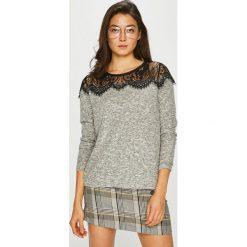 Only - Sweter Idaho. Szare swetry klasyczne damskie ONLY, l, z elastanu. Za 119,90 zł.