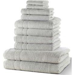 """Bielizna męska: Komplet ręczników """"New Uni""""(10 części) bonprix szary"""