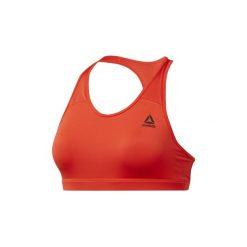 Biustonosze Reebok Sport  Biustonosz Workout Ready Racerback. Brązowe biustonosze sportowe marki Puma, z bawełny. Za 99,95 zł.