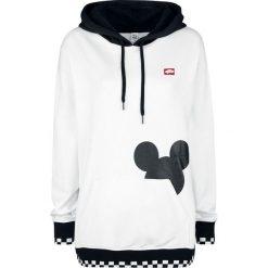 Vans Disney Checkerboard Mickey Bluza z kapturem damska biały. Białe bluzy rozpinane damskie Vans, m, w kratkę, z kapturem. Za 284,90 zł.