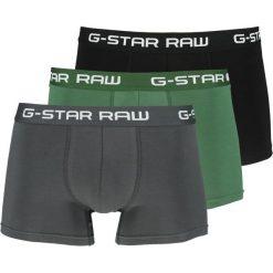 GStar CLASSIC TRUNK CLR 3 PACK Panty deep nuri green/rhino/black. Czarne bokserki męskie G-Star, z bawełny. Za 179,00 zł.