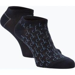 Calvin Klein - Damskie skarpety do obuwia sportowego pakowane po 2 szt., niebieski. Niebieskie skarpetki damskie Calvin Klein. Za 54,95 zł.