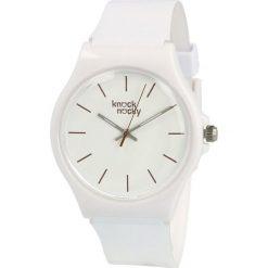 Zegarek Knock Nocky Damski SF3042000 StarFish Lakierowany biały. Białe zegarki damskie Knock Nocky. Za 106,99 zł.