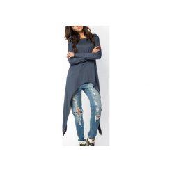 BLUZKA BLUZA BAT | NIETOPERZ GRAFITOWA. Czerwone długie bluzy damskie marki Meleksima, l, z materiału, midi, oversize. Za 125,30 zł.