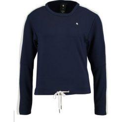 Bluzki asymetryczne: GStar NOSTELLE STRIPE Bluzka z długim rękawem sartho blue