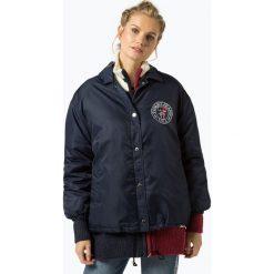 Tommy Jeans - Kurtka damska, niebieski. Niebieskie bomberki damskie Tommy Jeans, m, z haftami, z jeansu. Za 749,95 zł.
