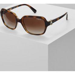 VOGUE Eyewear Okulary przeciwsłoneczne havana. Brązowe okulary przeciwsłoneczne damskie aviatory VOGUE Eyewear. Za 459,00 zł.