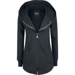 Black Premium by EMP How Long Bluza z kapturem rozpinana damska czarny. Czarne bluzy rozpinane damskie marki Black Premium by EMP, xl, z poliesteru. Za 224,90 zł.