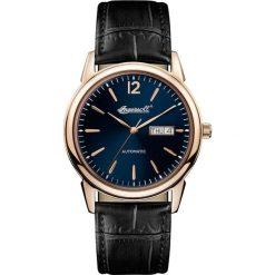 PROMOCJA ZEGAREK INGERSOLL THE NEW HAVEN AUTOMATIC I00504. Niebieskie zegarki męskie INGERSOLL, ze stali. W wyprzedaży za 989,00 zł.