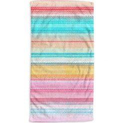 """Kąpielówki męskie: Ręcznik plażowy """"Kimly"""" z kolorowym wzorem"""