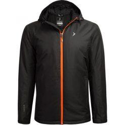 Kurtka narciarska męska KUMN600 - głęboka czerń - Outhorn. Brązowe kurtki męskie pikowane Outhorn, m, narciarskie. Za 229,99 zł.