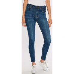 Scotch & Soda - Jeansy. Niebieskie jeansy damskie rurki marki Scotch & Soda, z bawełny. W wyprzedaży za 359,90 zł.