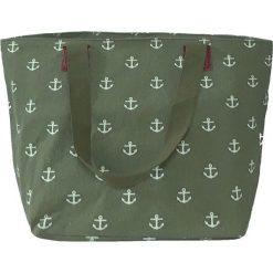 Torba plażowa TR212 Green. Czerwone torby plażowe marki Astratex, w koronkowe wzory, z wiskozy. Za 77,99 zł.