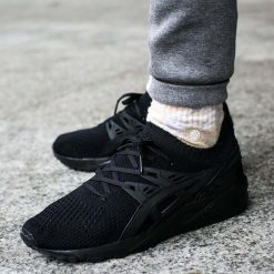 "Buty Asics Gel-Kayano Trainer Knit ""Black"" (H705N-9090). Czarne buty skate męskie Asics, z materiału, asics gel kayano. Za 279,99 zł."