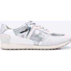 Geox - Buty. Szare buty sportowe damskie Geox, z materiału. W wyprzedaży za 219,90 zł.