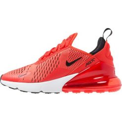 Nike Sportswear AIR MAX 270 Tenisówki i Trampki habanero red/black/white. Czerwone buty sportowe chłopięce Nike Sportswear, z materiału. Za 509,00 zł.