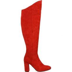 Kozaki - 2777 CAM RO21. Czerwone buty zimowe damskie marki Venezia, ze skóry. Za 589,00 zł.
