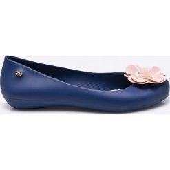 Zaxy - Baleriny. Niebieskie baleriny damskie Zaxy, z gumy. W wyprzedaży za 129,90 zł.