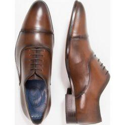 Buty wizytowe męskie: Brett & Sons Eleganckie buty natur/wisky