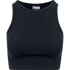 Urban Classics Ladies Cropped Rib Top Top damski czarny. Czarne topy damskie Urban Classics, xl. Za 29,90 zł.
