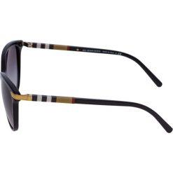 Burberry Okulary przeciwsłoneczne black. Czarne okulary przeciwsłoneczne damskie lenonki marki Burberry. Za 899,00 zł.